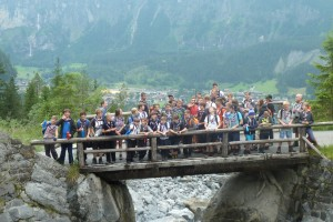 The Troop visits the International Scout Centre in Kandersteg.