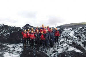 Volcanoes and Glaciers
