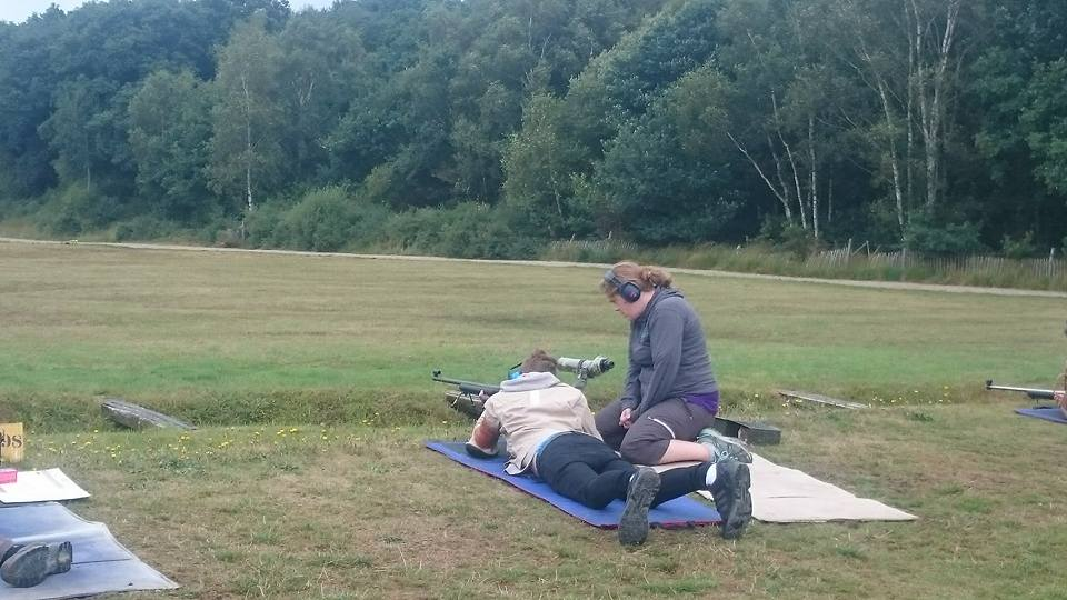 Shooting at Bisley